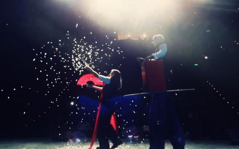 Deep Heart Magic Show Stage